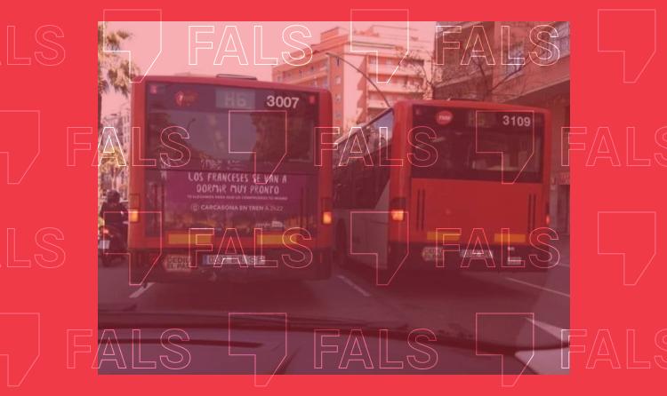 TMB no té dos autobusos amb la mateixa matrícula