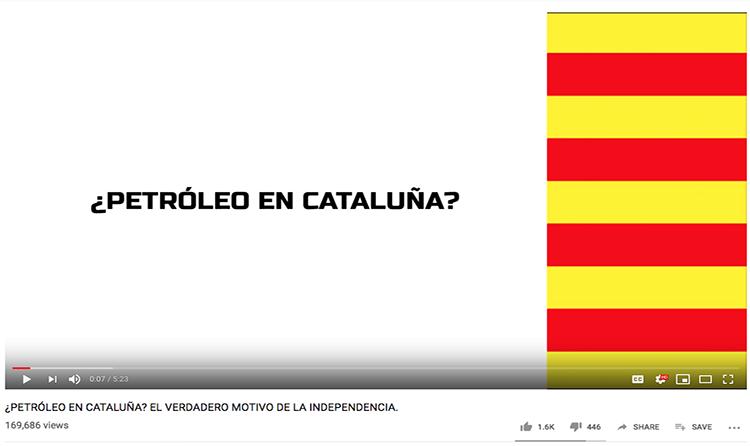 És fals que Catalunya tingui un dels majors jaciments de petroli del món