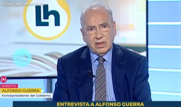 La ley Celaá no trata el castellano como una lengua extranjera, como dice Alfonso Guerra
