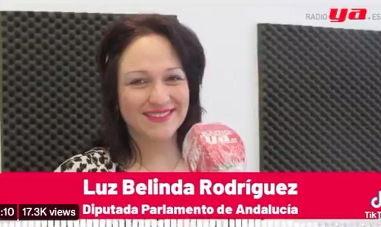 Las afirmaciones falsas de la diputada andaluza Luz Belinda Rodríguez