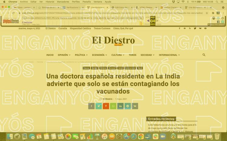 No és cert que només els vacunats s'estiguin contagiant a l'Índia