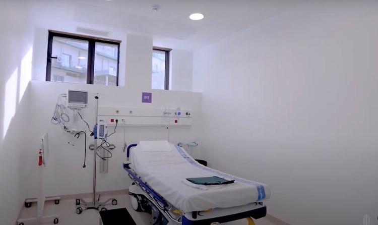 Imagen del nuevo anexo del Hospital de Bellvitge