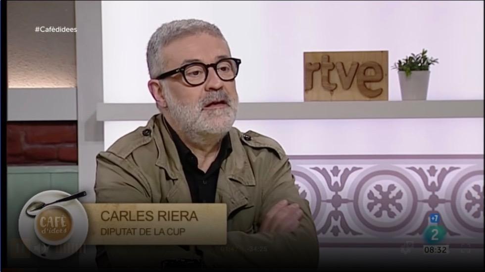 """L'independentisme no arriba """"com a mínim"""" al 50% a la """"majoria de les enquestes"""", com diu Carles Riera"""