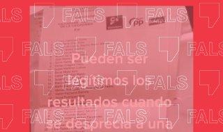 No hi ha proves que la Generalitat exclogués la papereta de Vox de la documentació electoral enviada als ciutadans